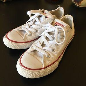 White Converse All Star ⭐️